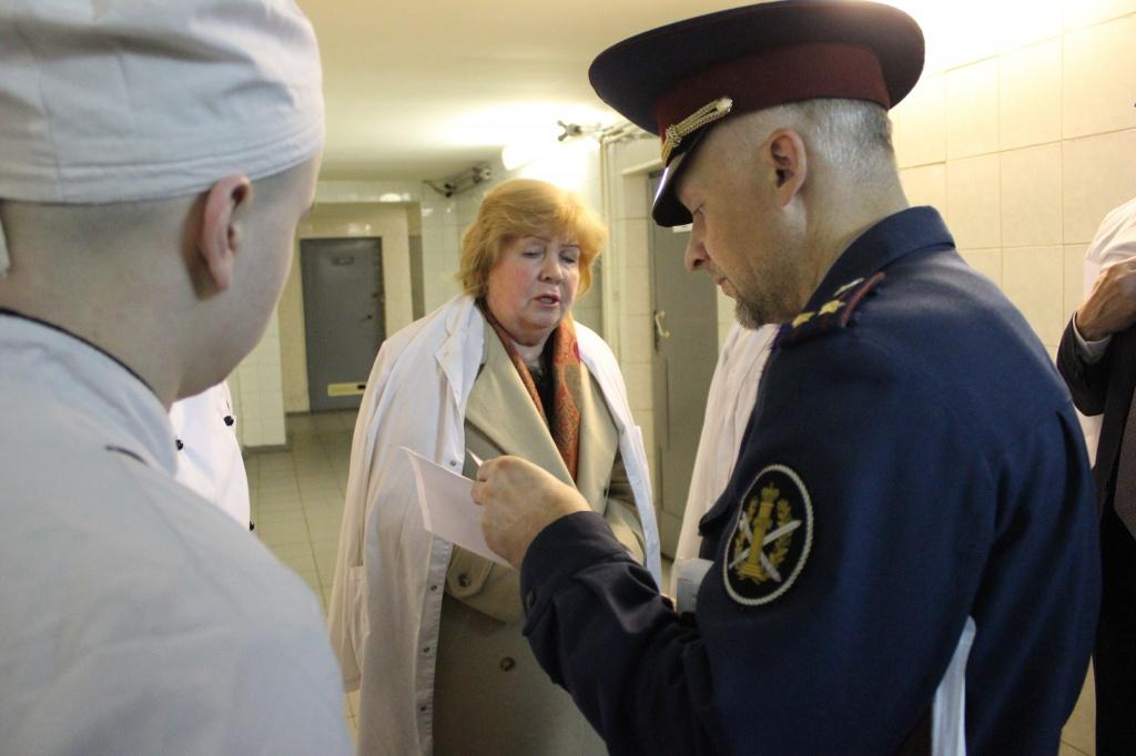 Члены Общественной палаты РФ посетили СИЗО Кресты